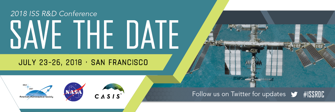 2018 IDDR&D Save the Date, July 23-26, 2018, San Francisco