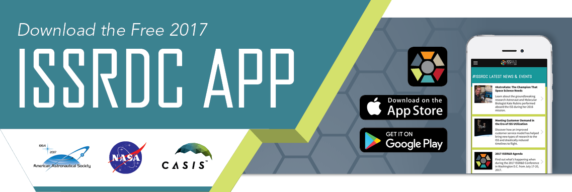 Download the 2017 ISS R&D Conference App for iOS and Android