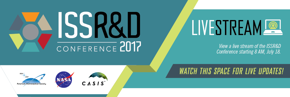 2017 ISSRDC Live Stream begins 8AM July on 18th