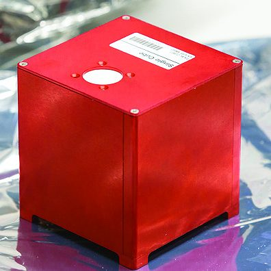 individual cube lab red
