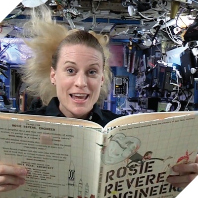 stem day storytime from space